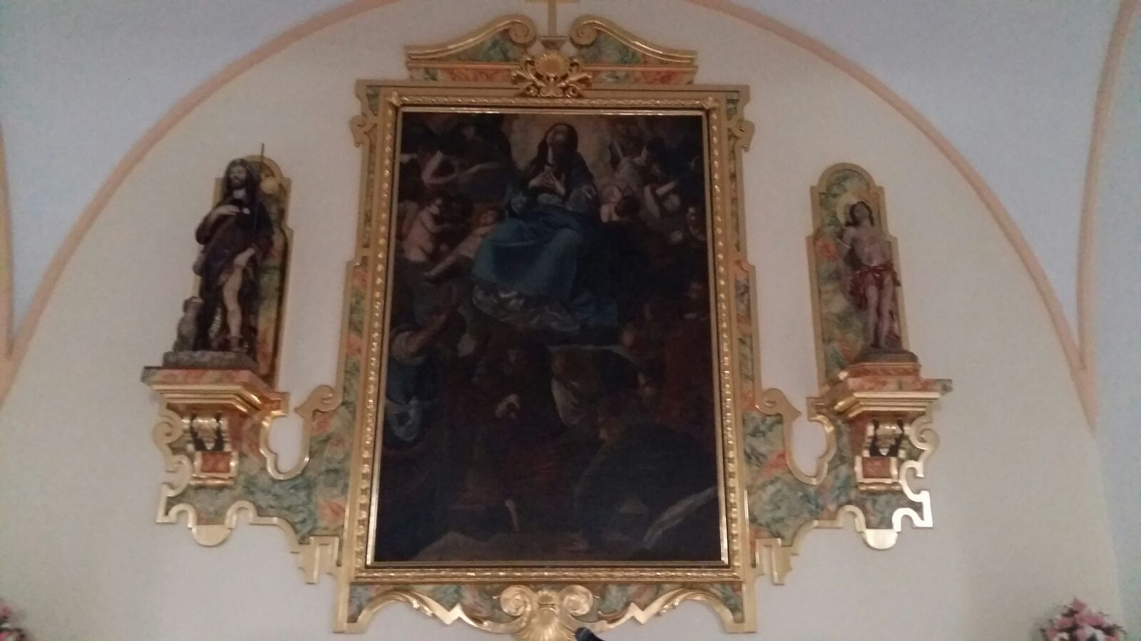 Retablo mayor de Villablanca